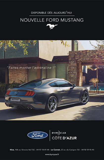 Magazine ads for Ford BYmyCAR designed by MADMINT