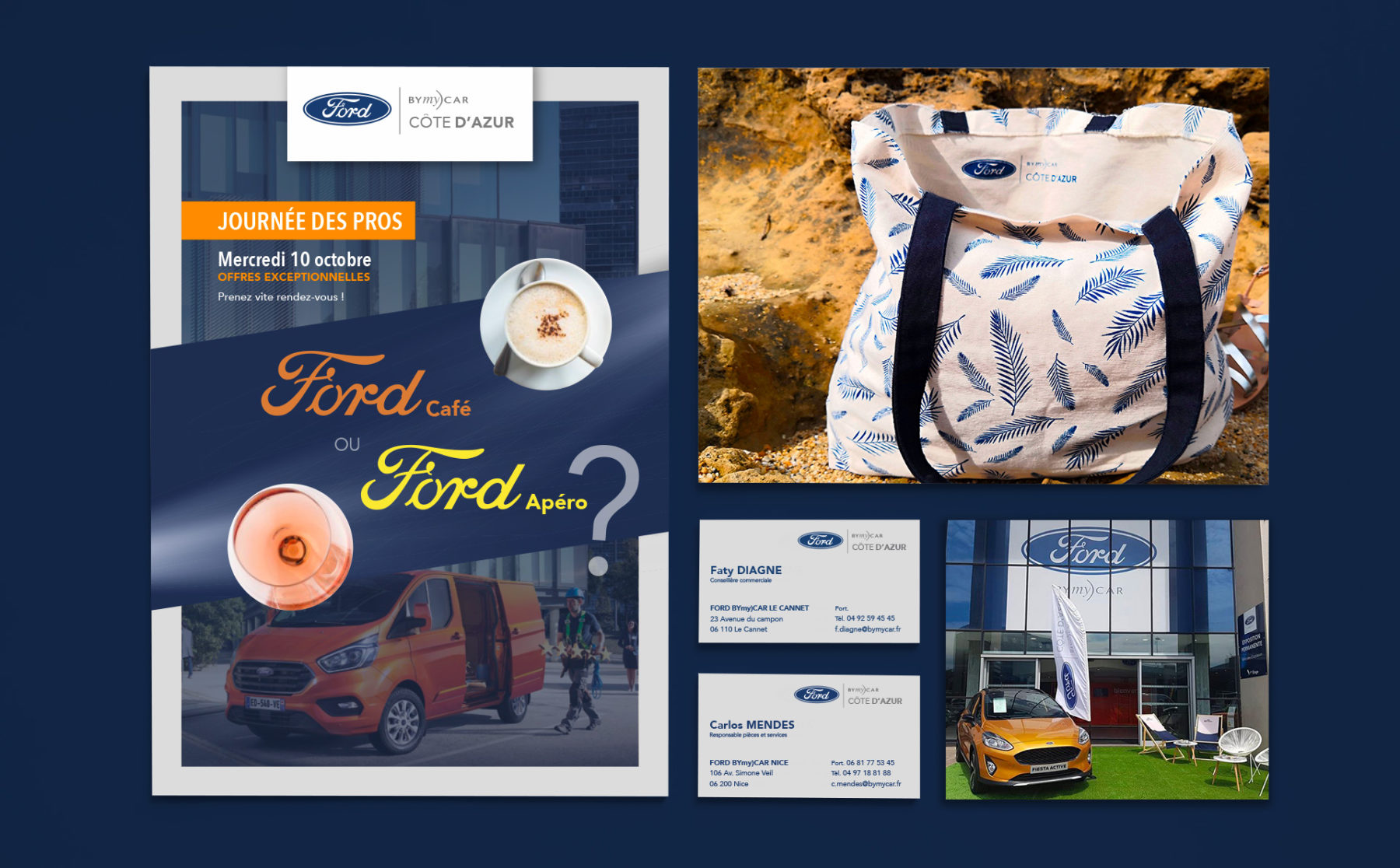 Print for Ford BYmyCAR designed by MADMINT