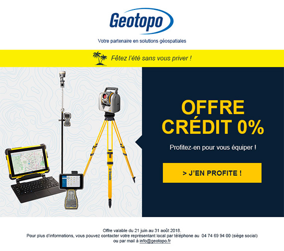 MADMINT designed a loan emailing for Geotopo