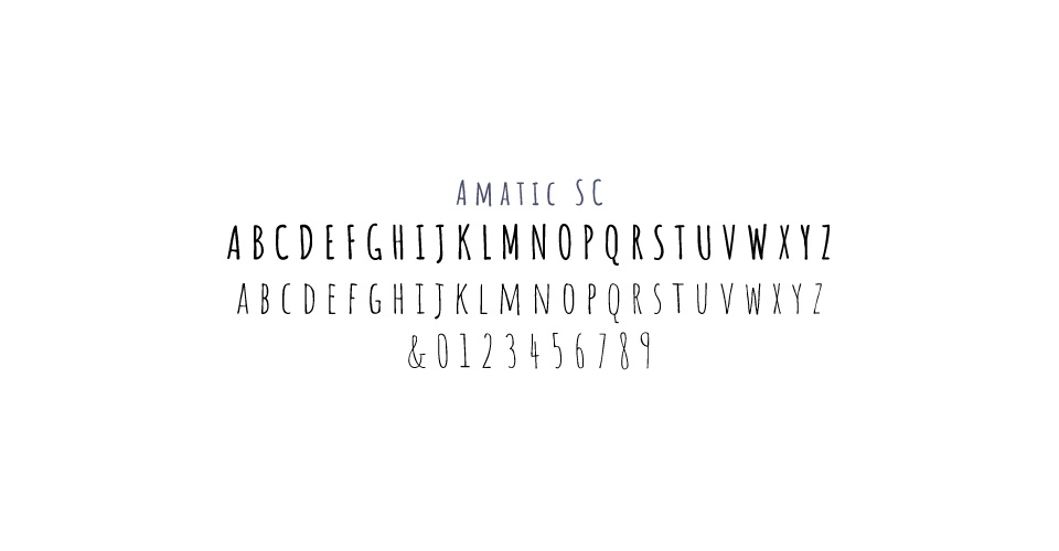 L'Acquolina's font selected by MADMINT