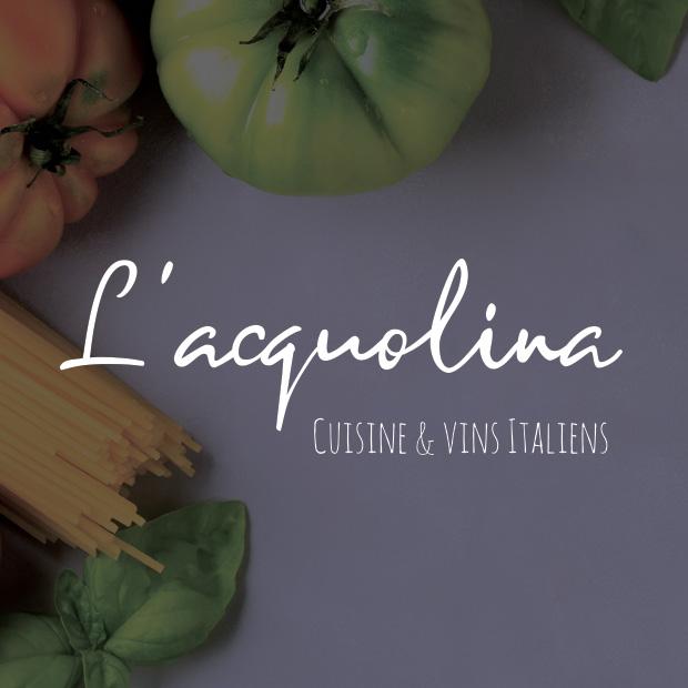 L'Acquolina : Branding & print