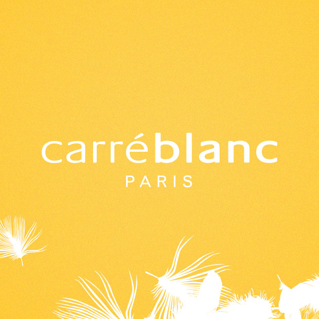 Carré Blanc : Print and Web design