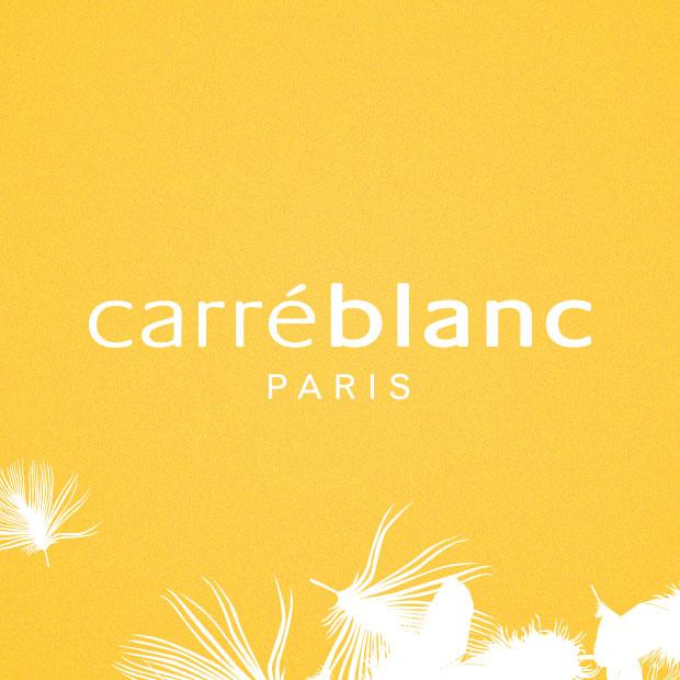Carré Blanc : Print and Web design