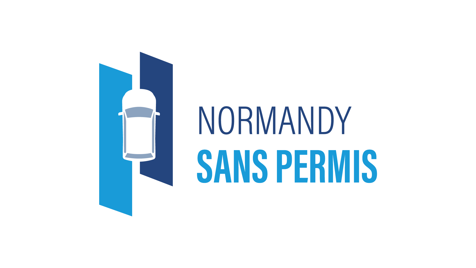Normandy Sans Permis logo créé par MADMINT