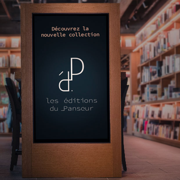 Les Éditions du Panseur : Identité visuelle & édition