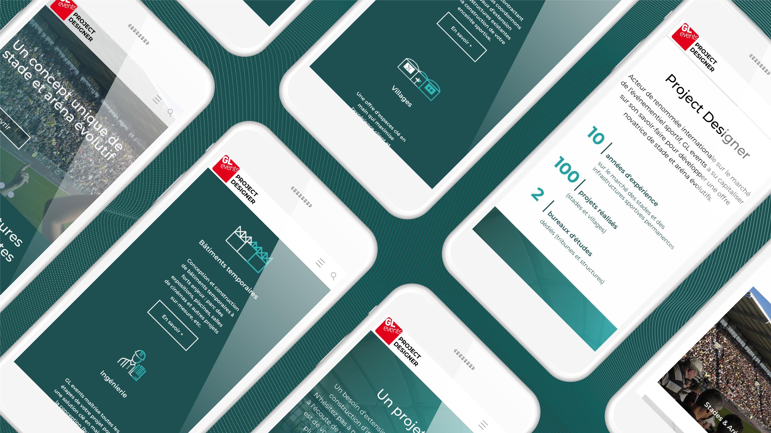 Site internet responsive designé par MADMINT