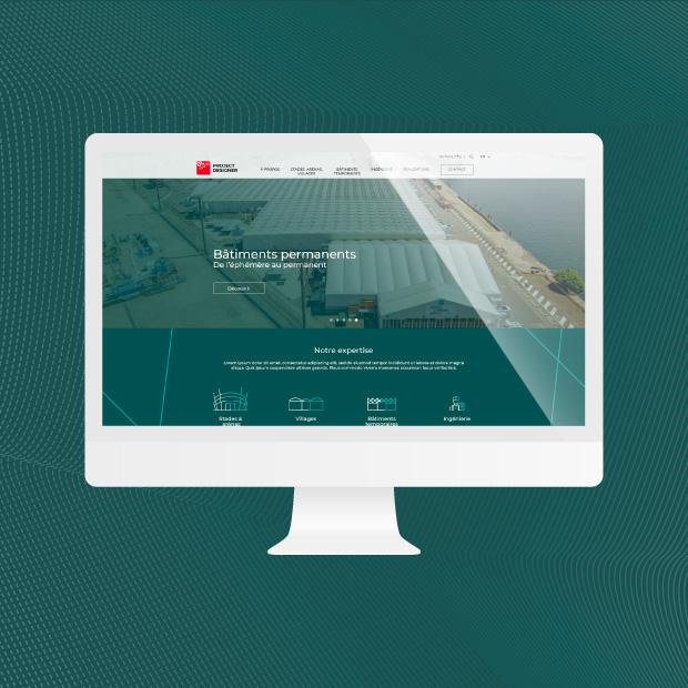 Project Designer : Web design