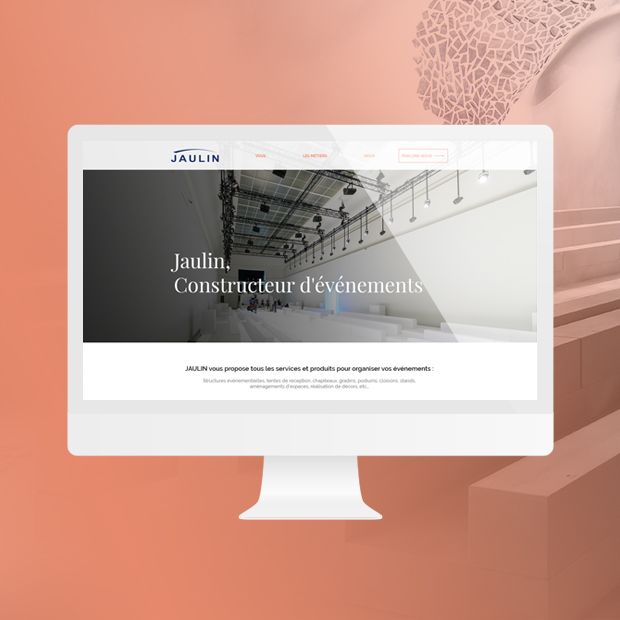 Jaulin : Web design